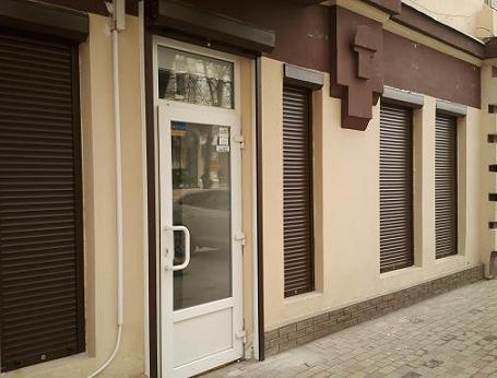 Рольставни из экструдированных профилей купить в Подольске